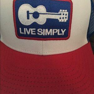 7efae93f Patagonia Accessories - RARE** Men's Patagonia Live Simply Guitar Hat
